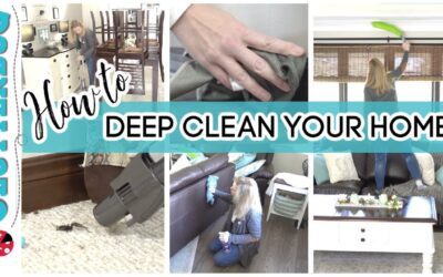How to Deep Clean Your Home – Week 6 Holiday Home Challenge