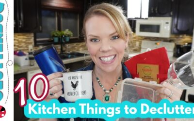 10 Things to Declutter from Your Kitchen Today