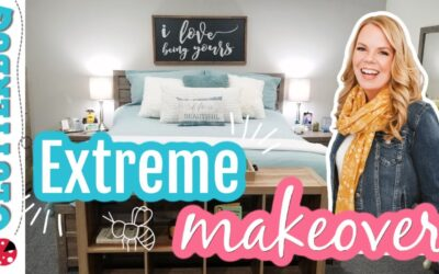 Extreme Bedroom Makeover | Advice Series 🐝