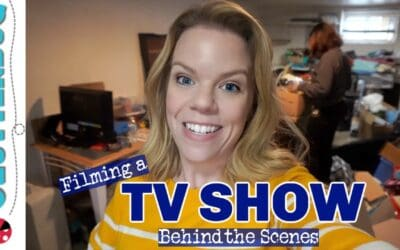 I'm Filming a TV SHOW! Behind the Scenes