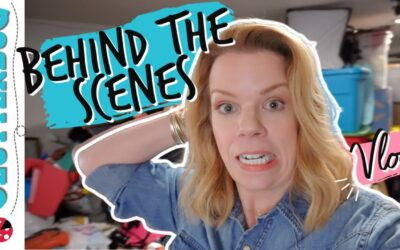 Behind the Scenes Vlog #1: I'm Feeling Overwhelmed!