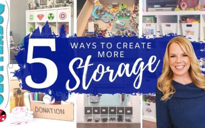 5 Ways to Create More Storage in your Home