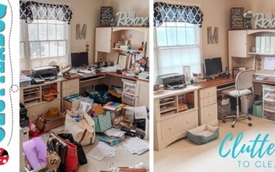 Clutter to Clean – Real Life Organizing Makeover