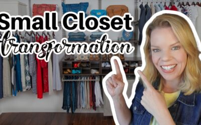 Small Closet Transformation  (Virtual Organizing with Eva)