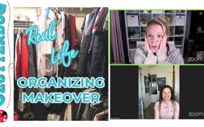 Virtual Organizing Consultation with Rachel