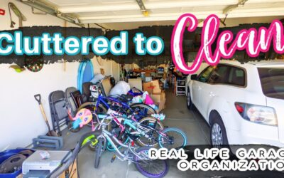 Cluttered to Clean – Real Life Garage Organization