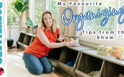 My Favourite Home Organization Tips from the TV Show