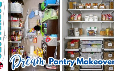 My DREAM Pantry Makeover! Before & After Organization 😍 😱