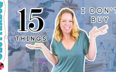 15 things I don't buy anymore as a Professional Organizer