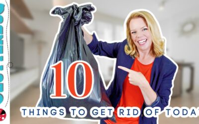10 Things to Get Rid of TODAY – Week One Declutter Bootcamp